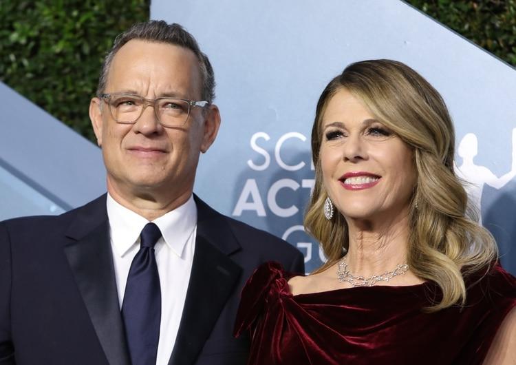 Tom Hanks y su esposa afectados por coronavirus