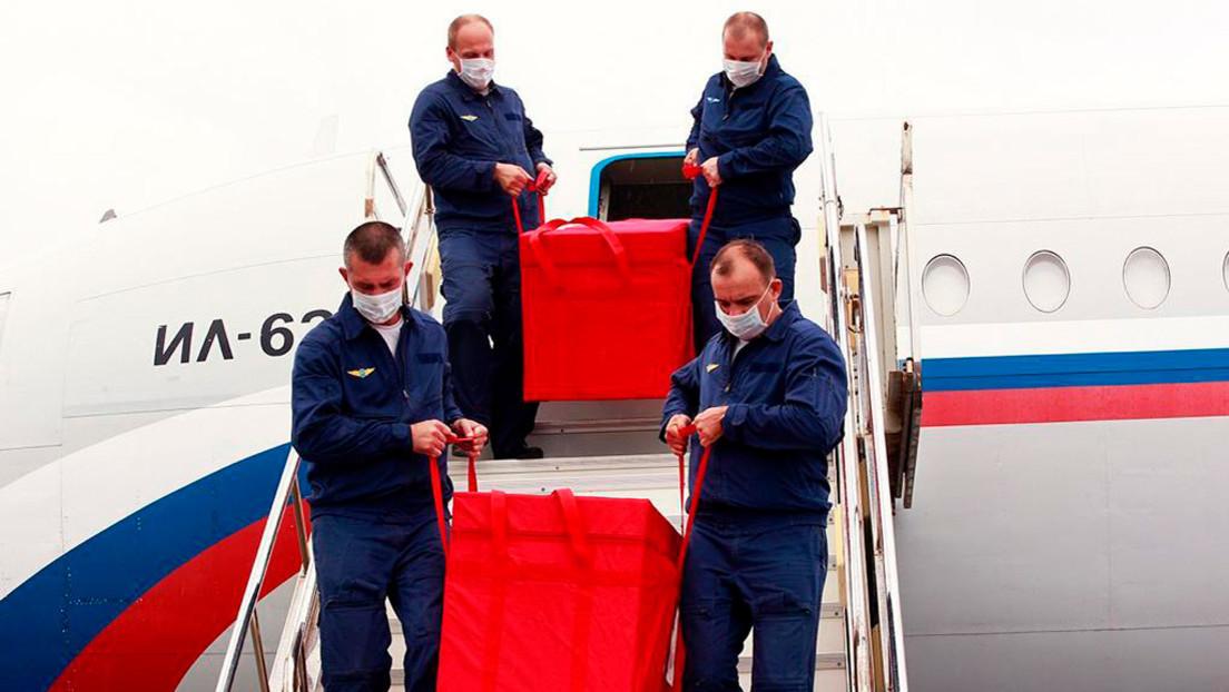 Cargamento de Sputnik V llega a Venezuela, primer país en Latinoamérica en aprobar la vacuna rusa contra el coronavirus